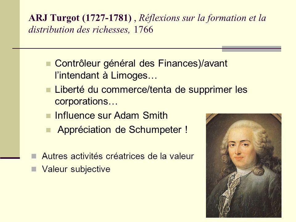 Contrôleur général des Finances)/avant l'intendant à Limoges…