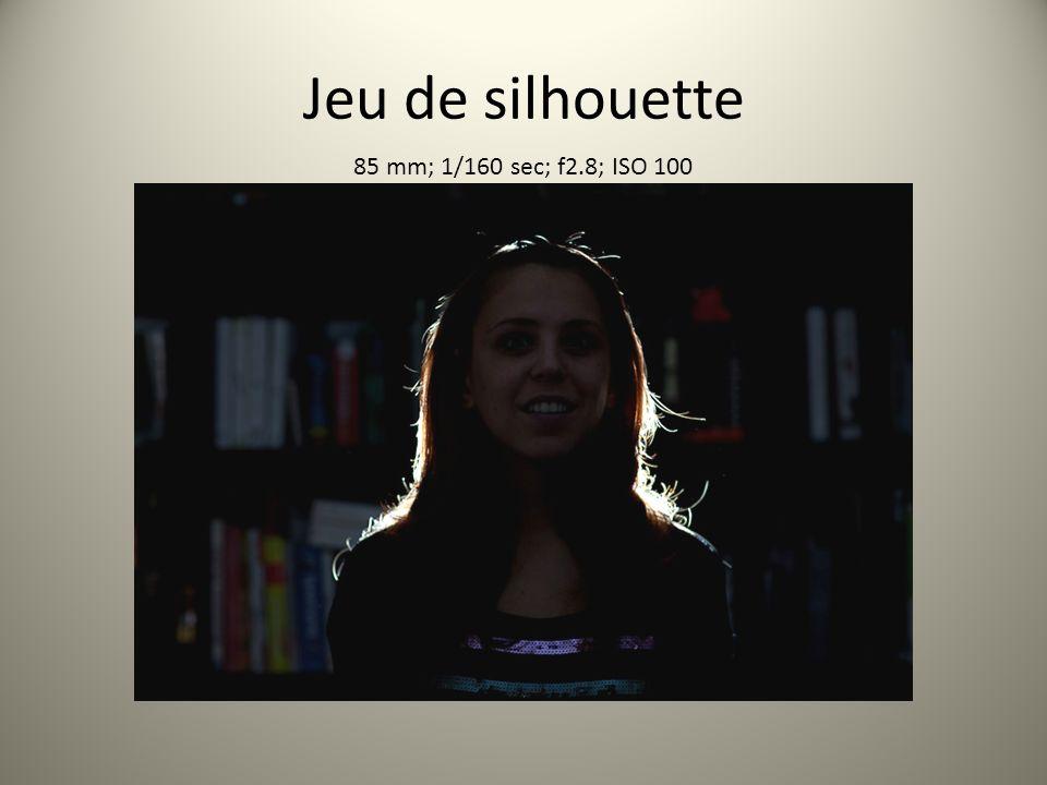 Jeu de silhouette 85 mm; 1/160 sec; f2.8; ISO 100