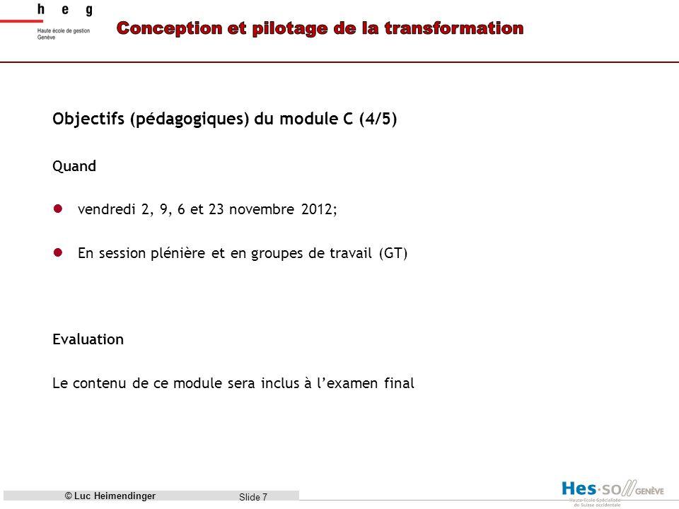 Objectifs (pédagogiques) du module C (4/5)