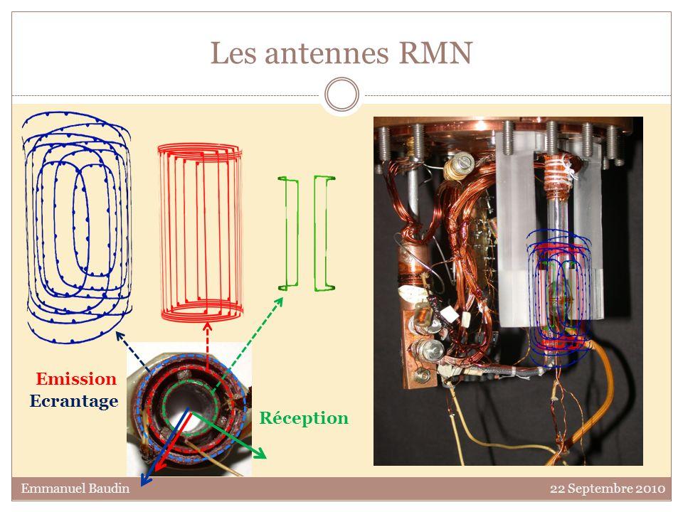 Les antennes RMN Emission Ecrantage Réception