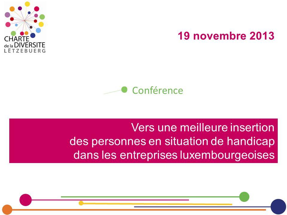 19 novembre 2013 Conférence.