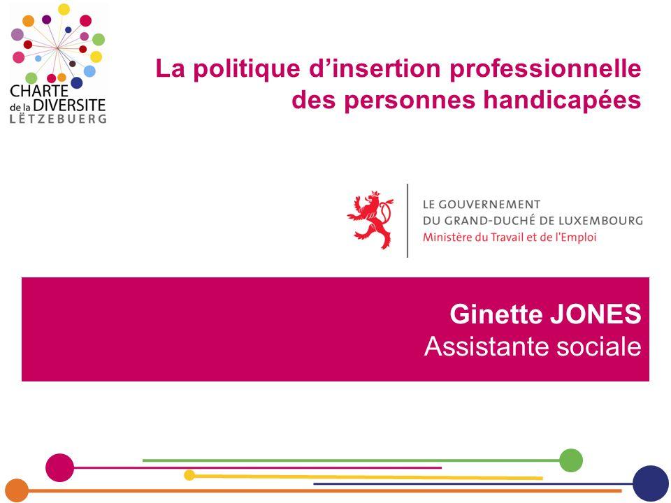 Ginette JONES Assistante sociale