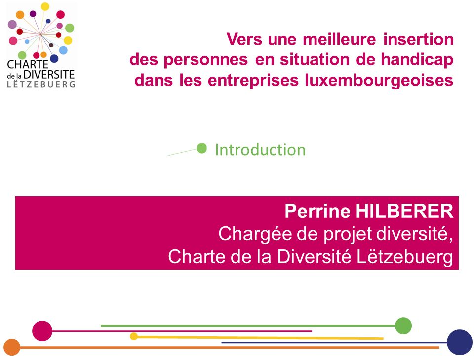 Vers une meilleure insertion des personnes en situation de handicap dans les entreprises luxembourgeoises