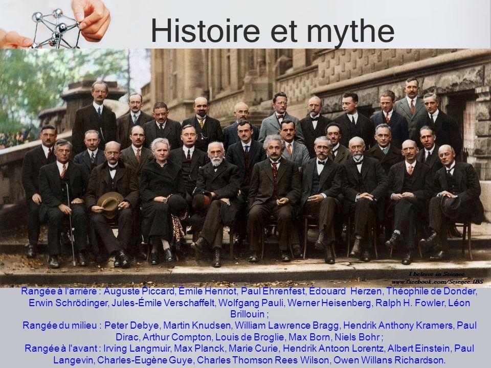 Histoire et mythe .