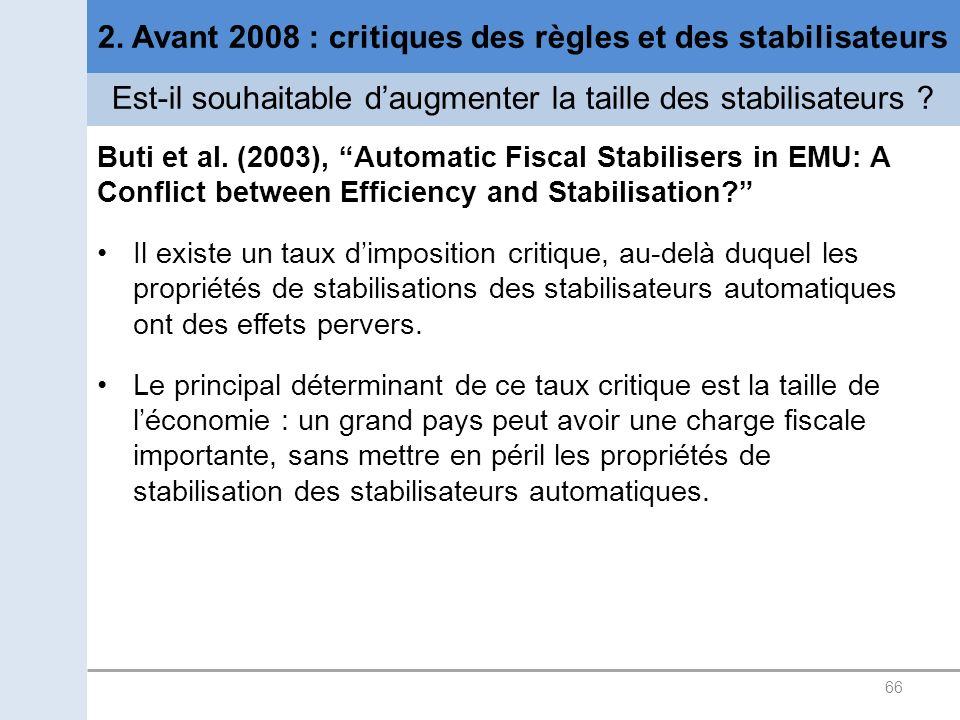 2. Avant 2008 : critiques des règles et des stabilisateurs