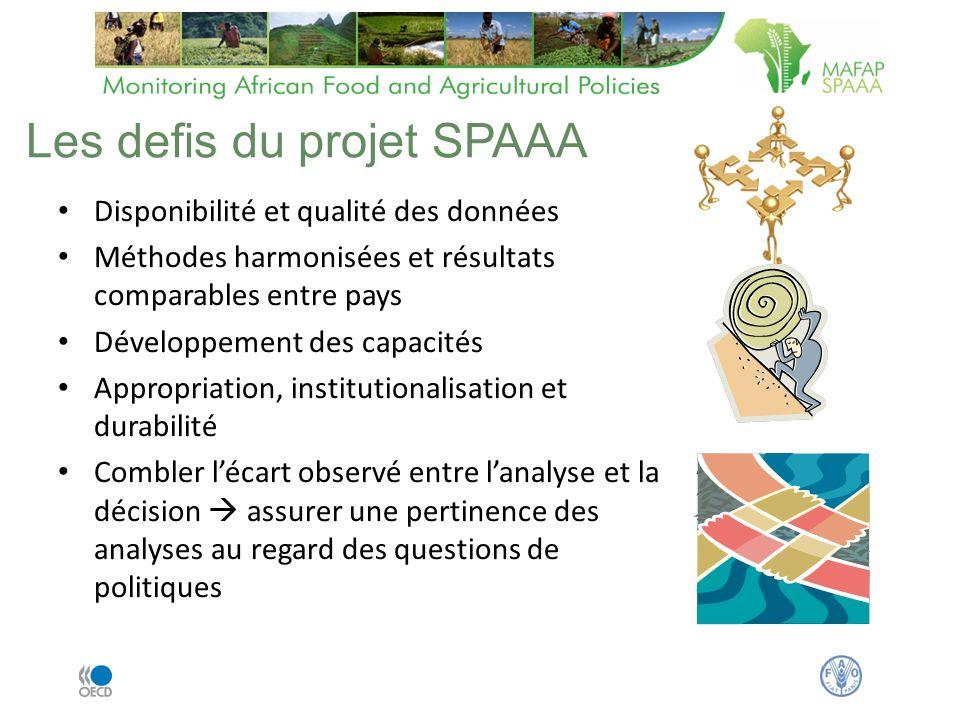 Les defis du projet SPAAA