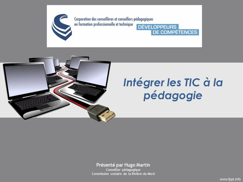 Intégrer les TIC à la pédagogie