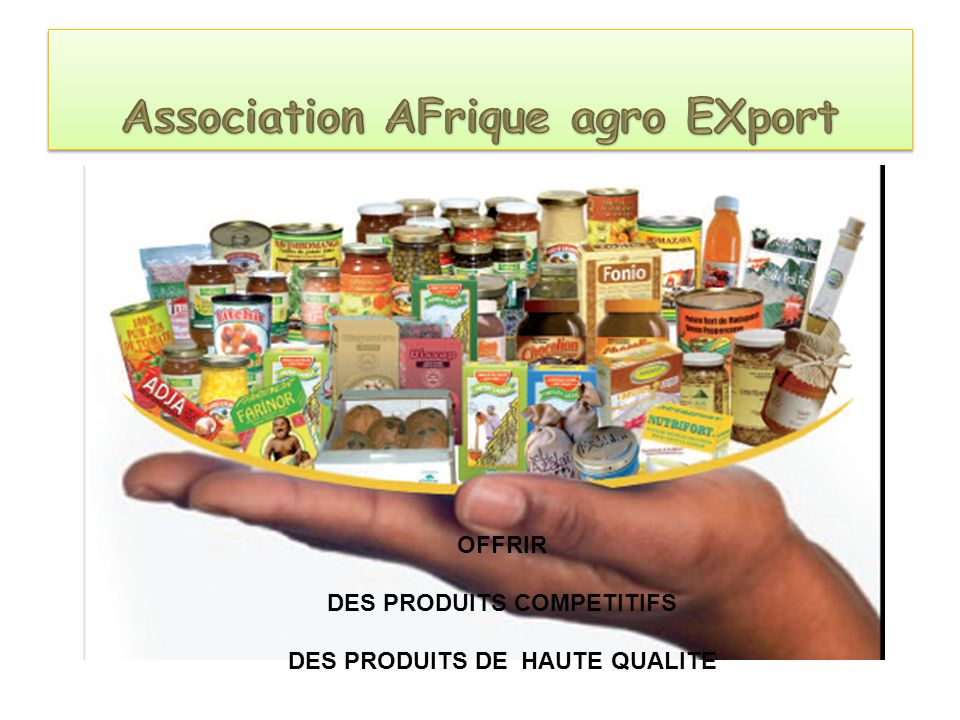 Association AFrique agro EXport