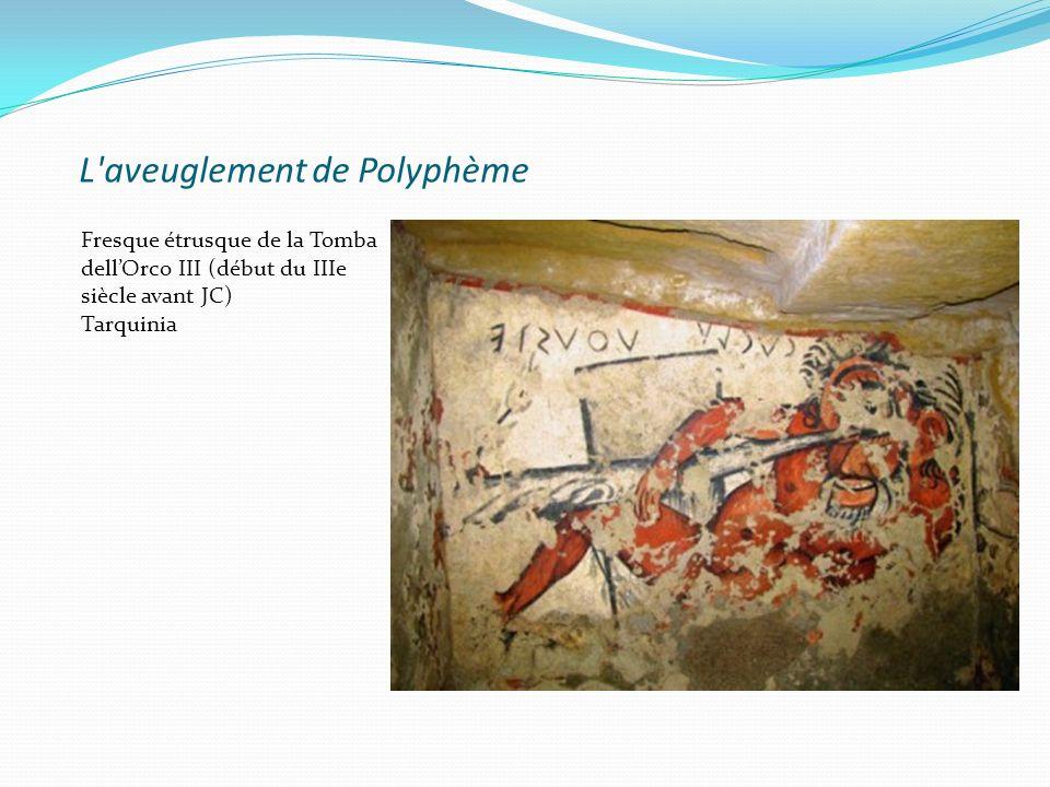 L aveuglement de Polyphème