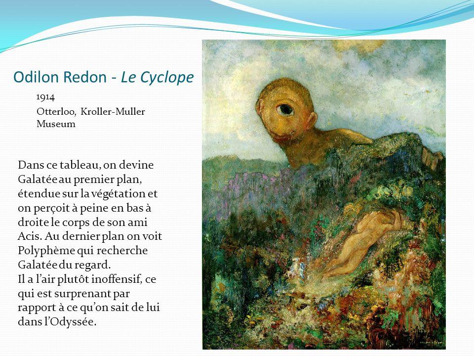 Odilon Redon - Le Cyclope