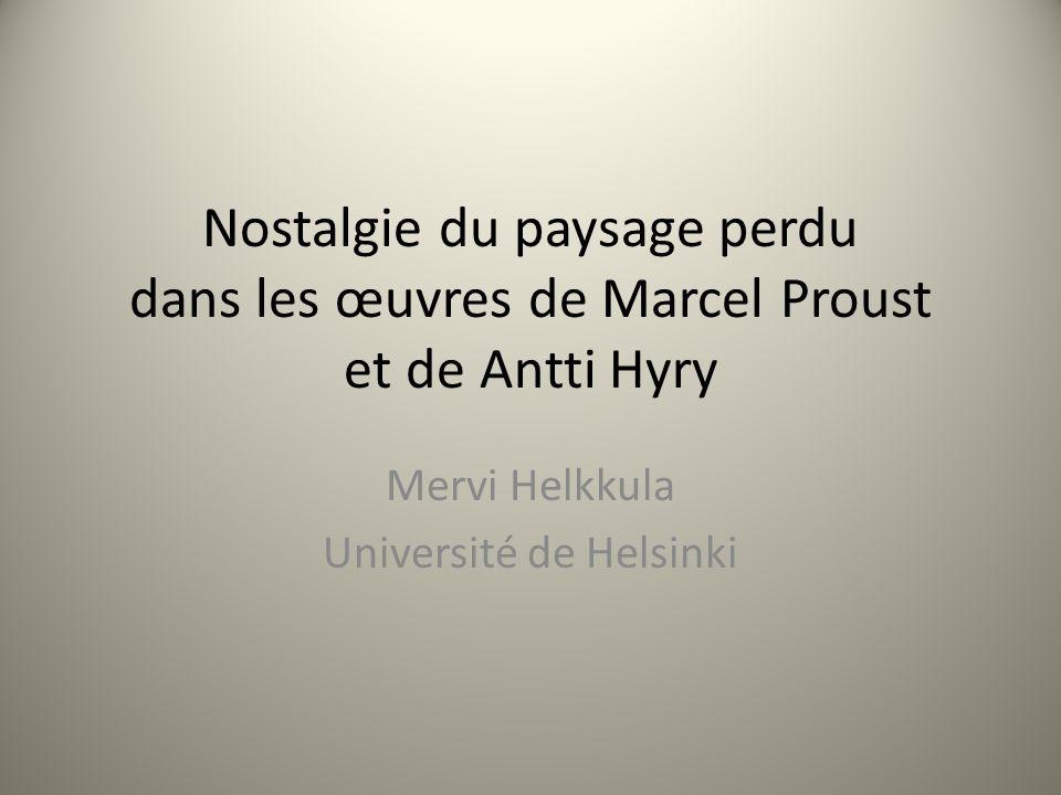 Mervi Helkkula Université de Helsinki