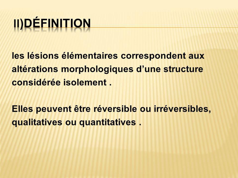 II)définition