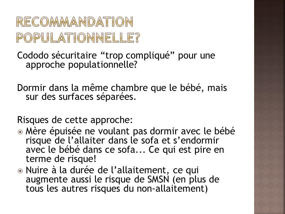 Recommandation populationnelle