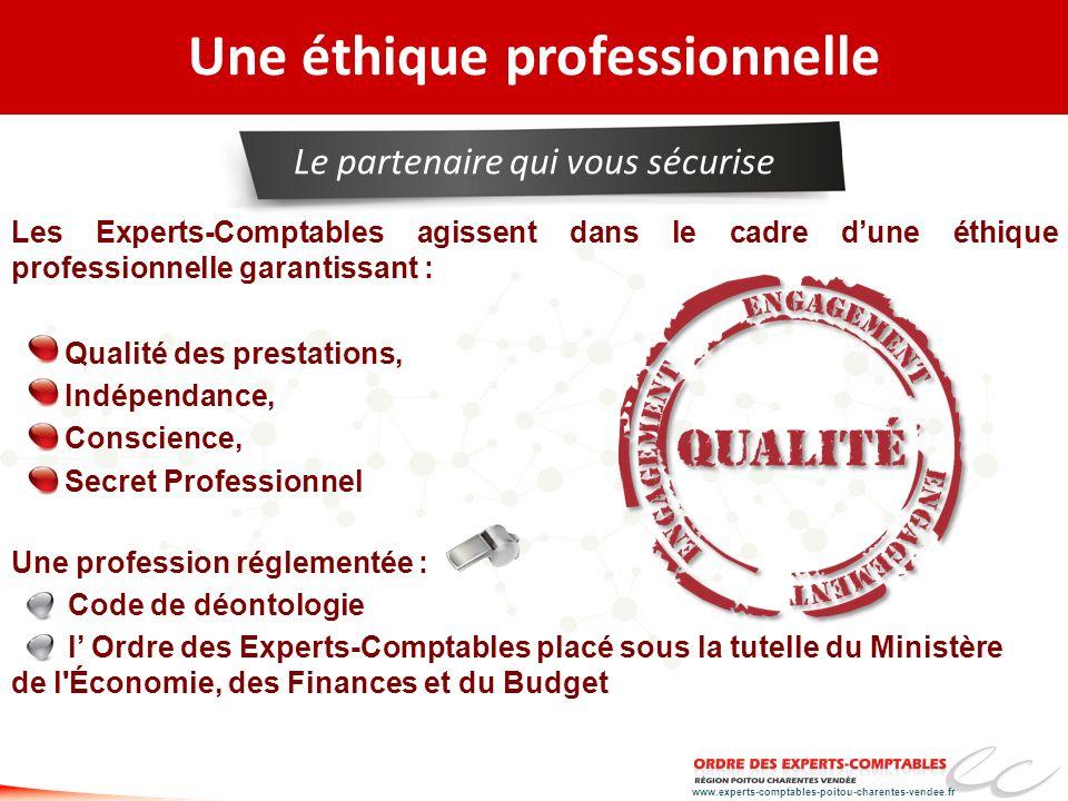 Une éthique professionnelle