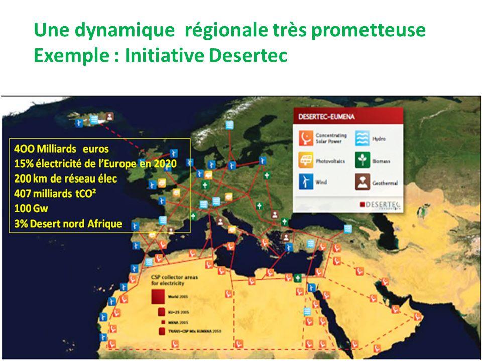 Une dynamique régionale très prometteuse