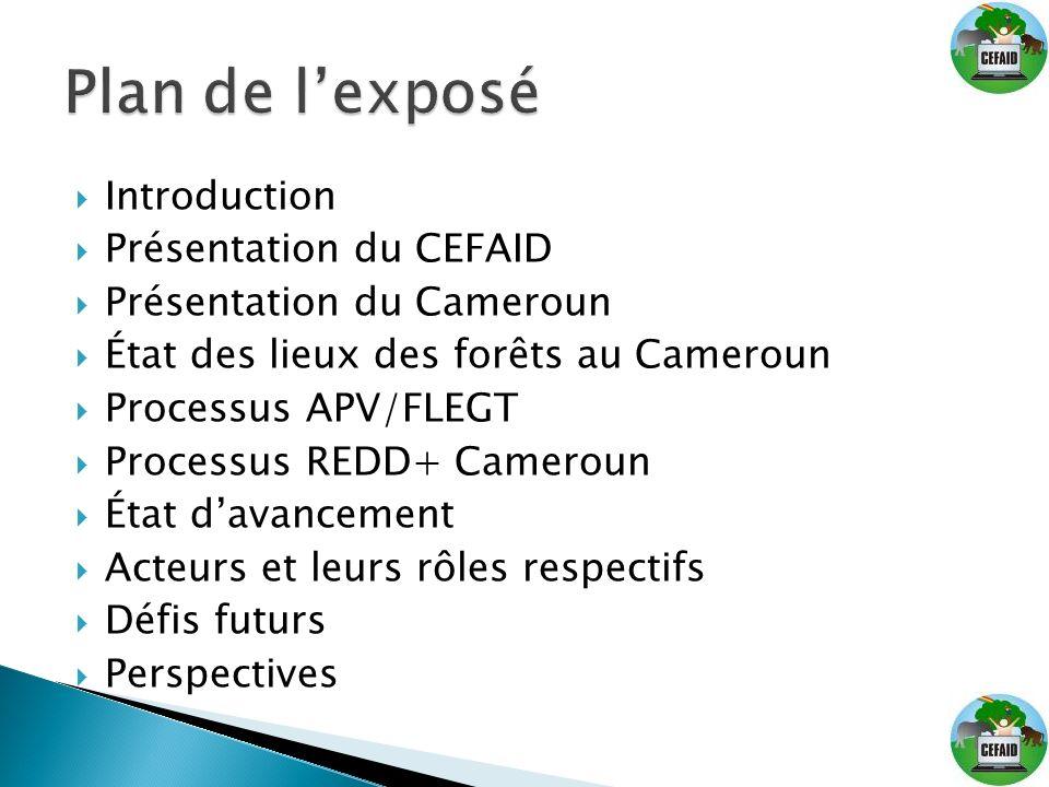 Plan de l'exposé Introduction Présentation du CEFAID