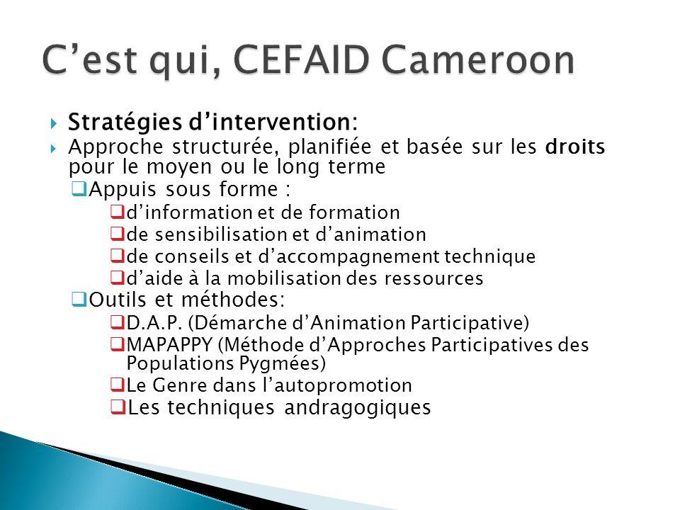 C'est qui, CEFAID Cameroon