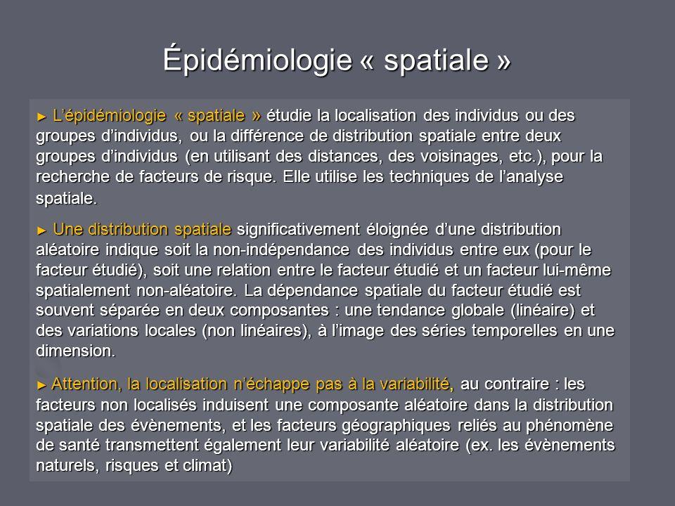 Épidémiologie « spatiale »