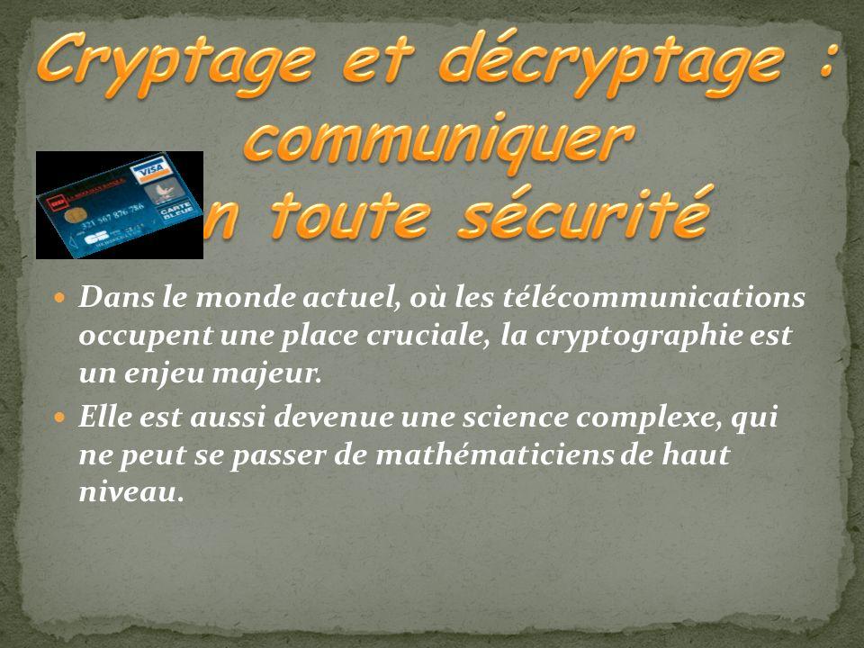 Cryptage et décryptage : communiquer en toute sécurité