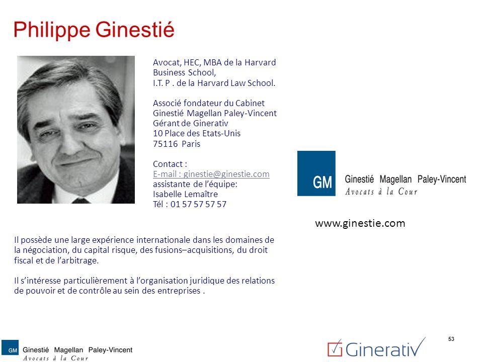 Philippe Ginestié www.ginestie.com