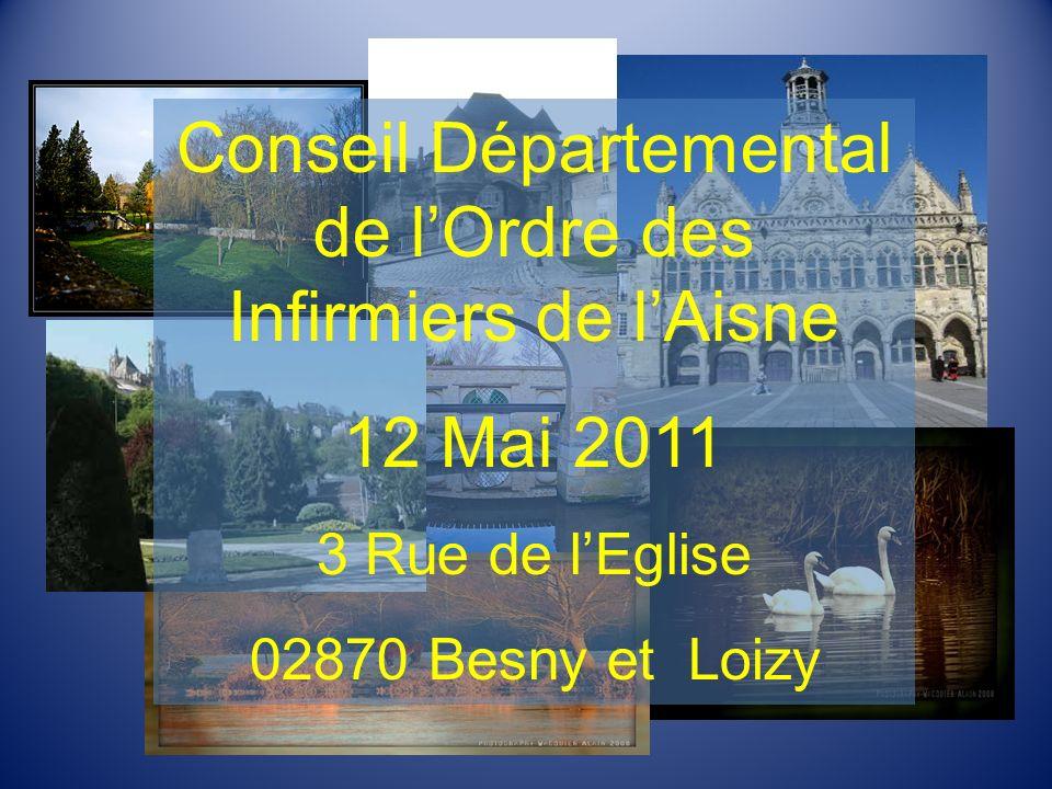 Conseil Départemental de l'Ordre des Infirmiers de l'Aisne