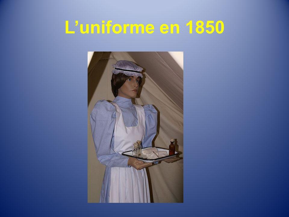 L'uniforme en 1850