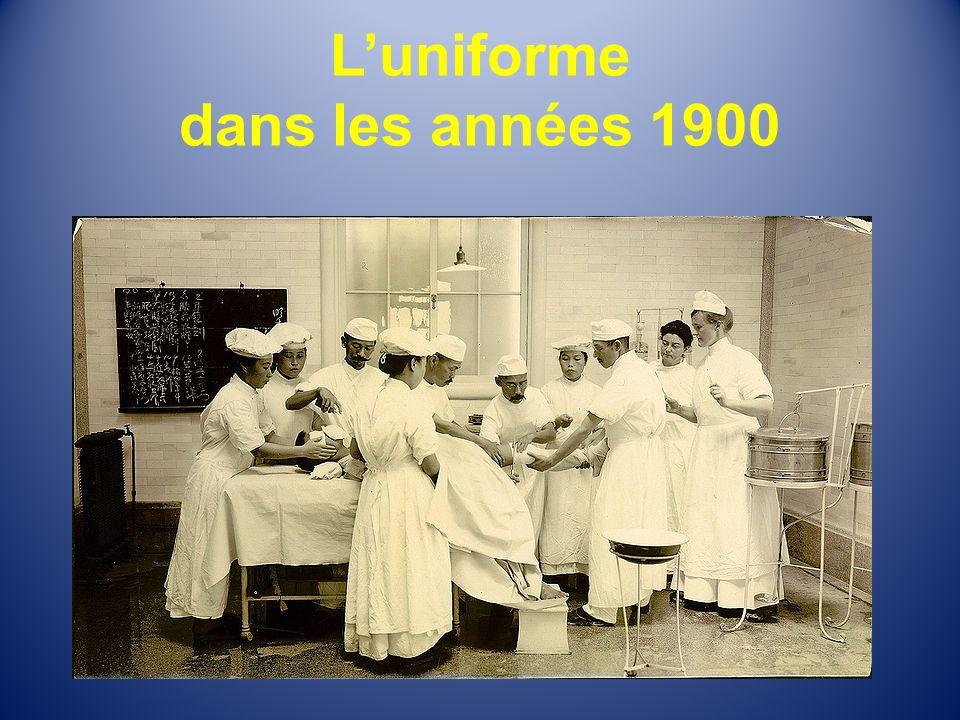 L'uniforme dans les années 1900