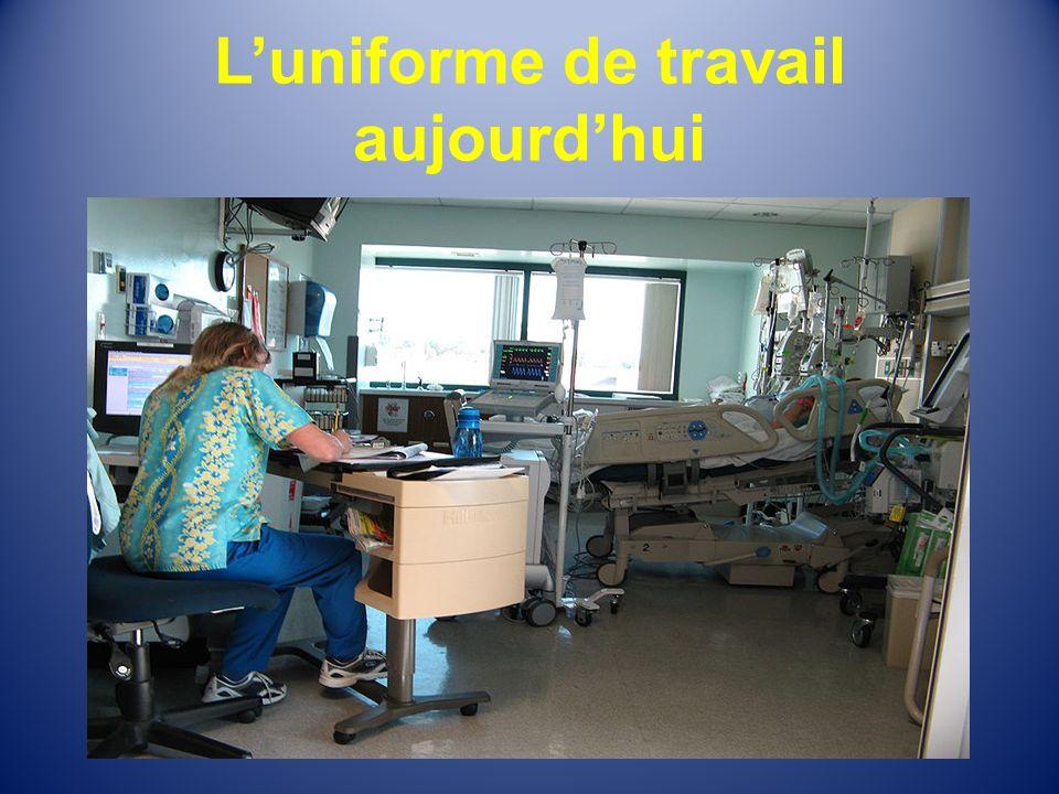 L'uniforme de travail aujourd'hui