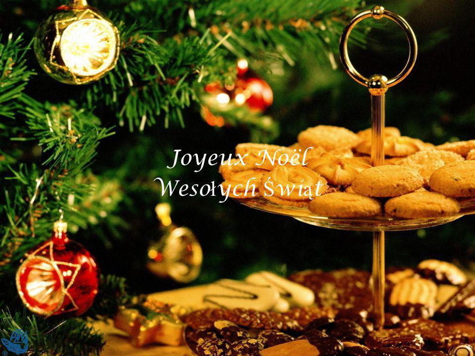 Joyeux Noël Wesołych Świąt