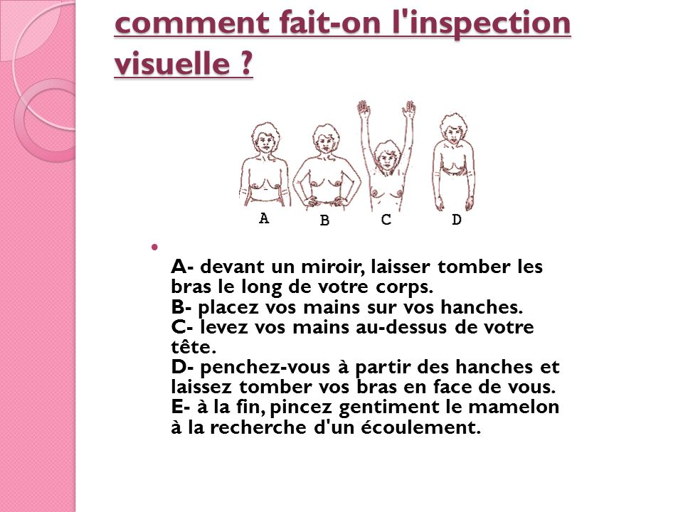 comment fait-on l inspection visuelle