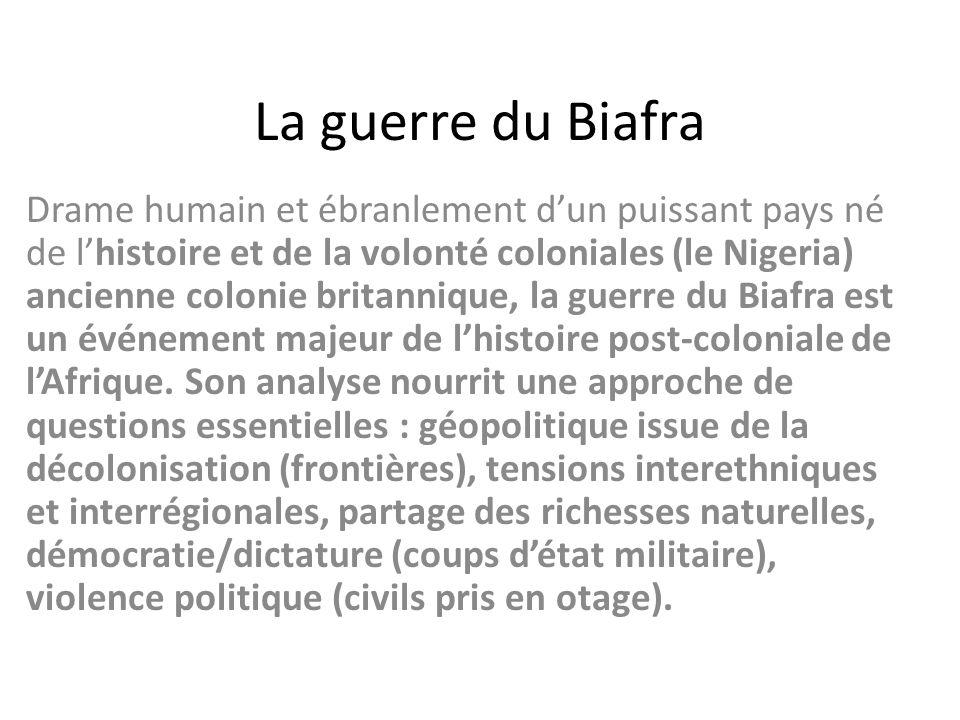 La guerre du Biafra