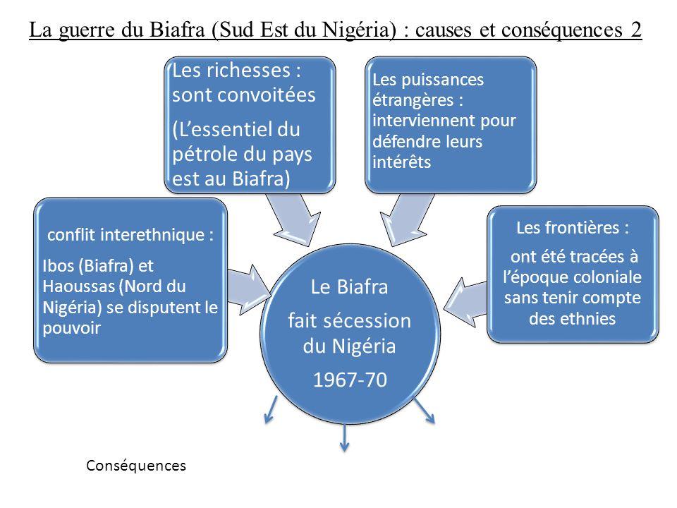 La guerre du Biafra (Sud Est du Nigéria) : causes et conséquences 2