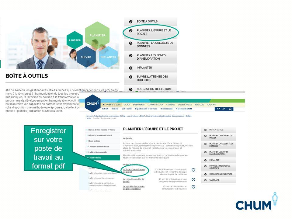 Enregistrer sur votre poste de travail au format pdf