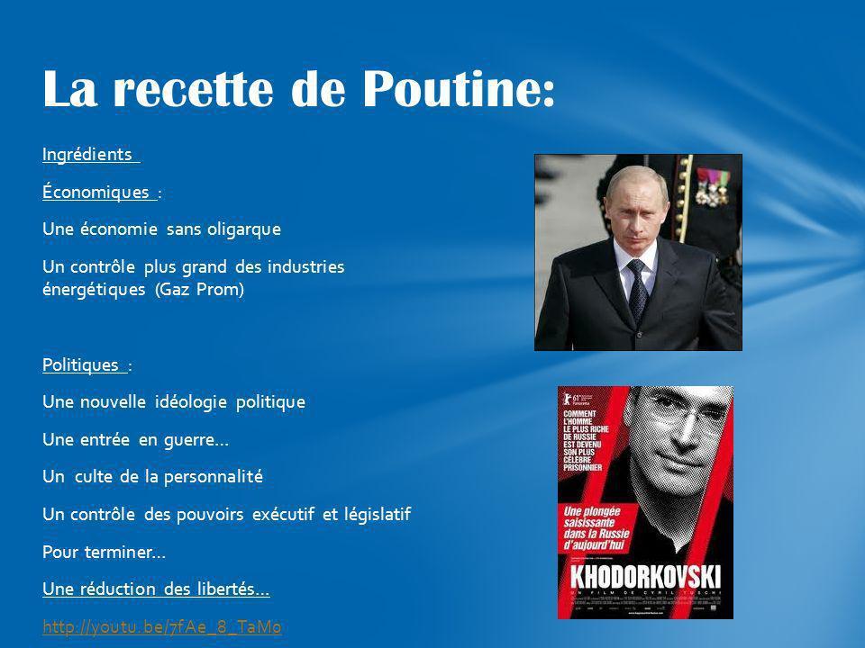 La recette de Poutine: