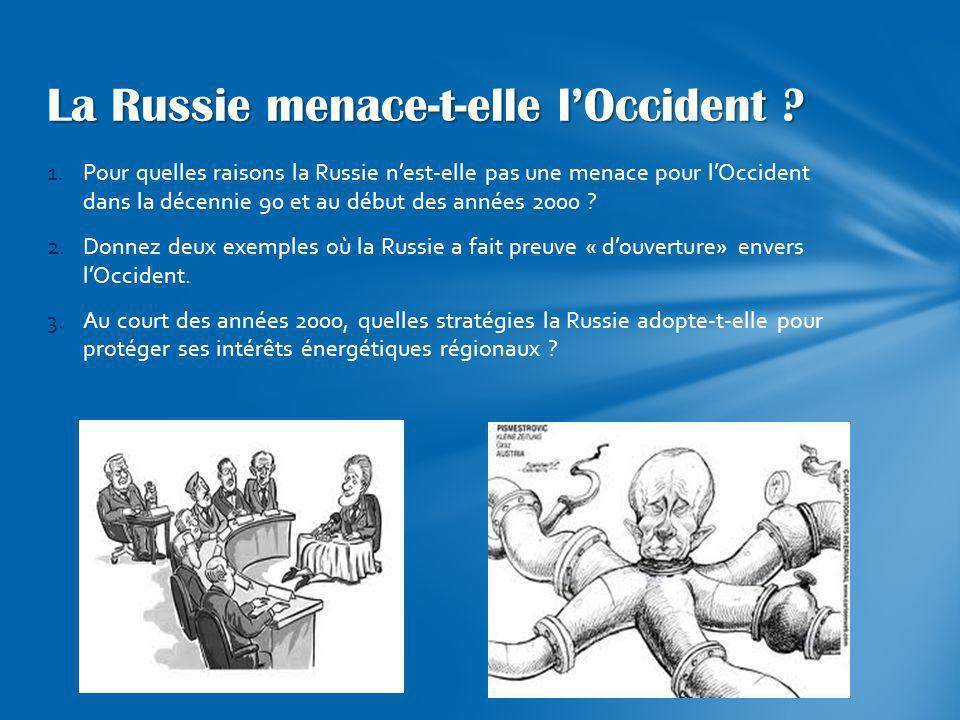La Russie menace-t-elle l'Occident