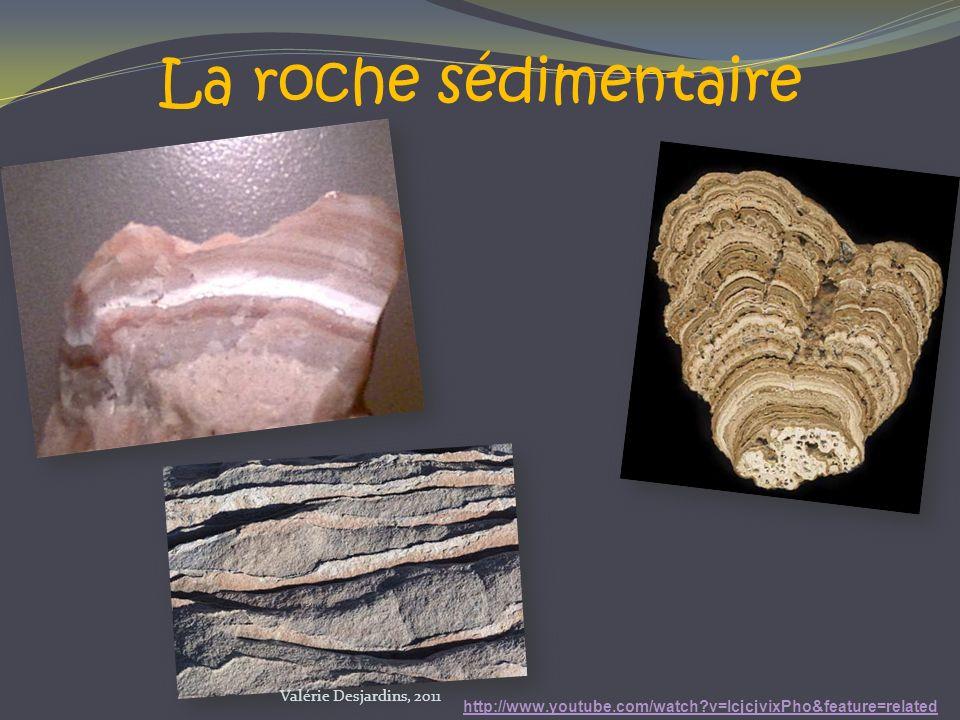 La roche sédimentaire Valérie Desjardins, 2011