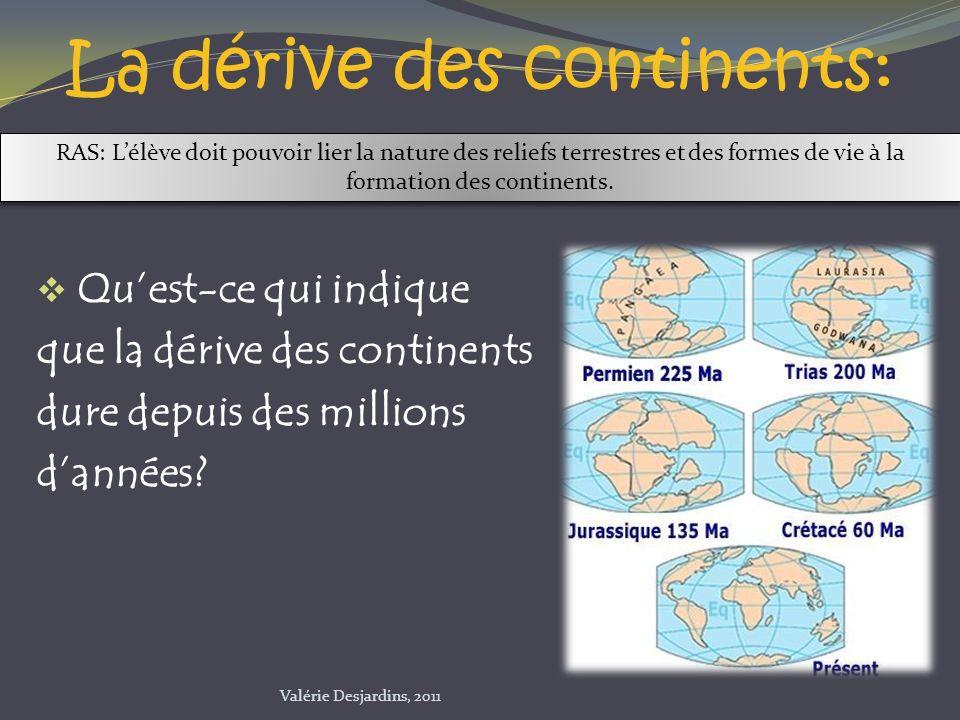 La dérive des continents: