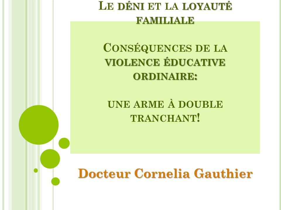 Docteur Cornelia Gauthier