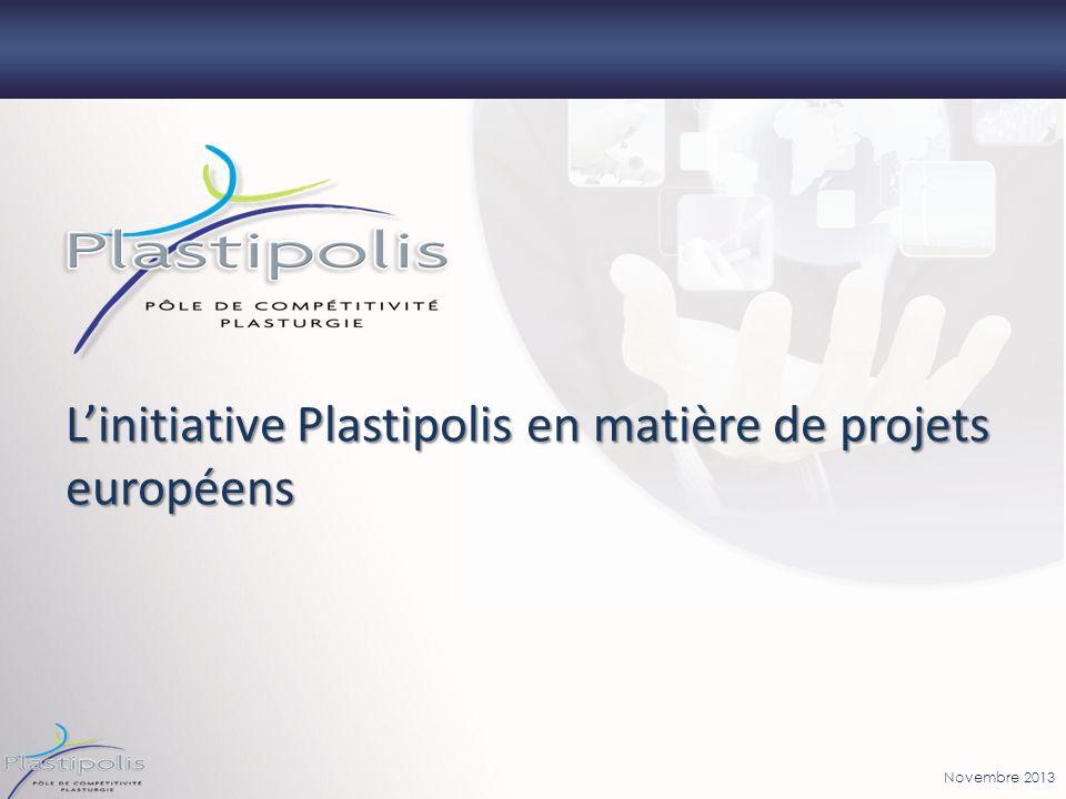 L'initiative Plastipolis en matière de projets européens