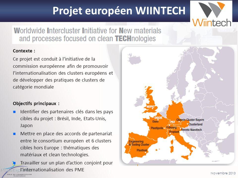 Projet européen WIINTECH