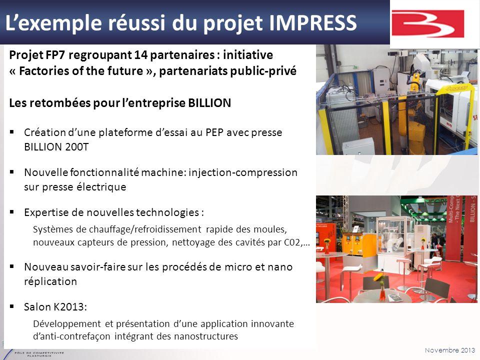 L'exemple réussi du projet IMPRESS