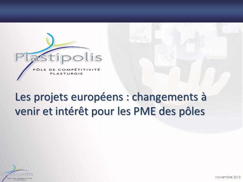 Les projets européens : changements à venir et intérêt pour les PME des pôles