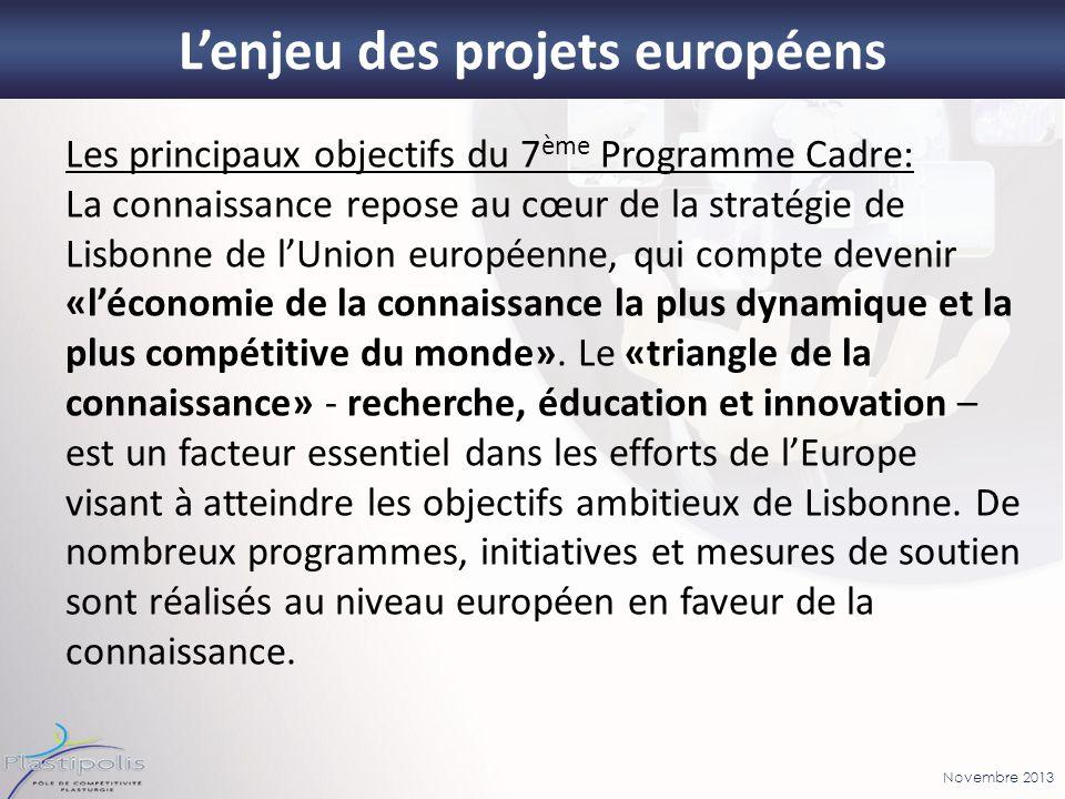 L'enjeu des projets européens