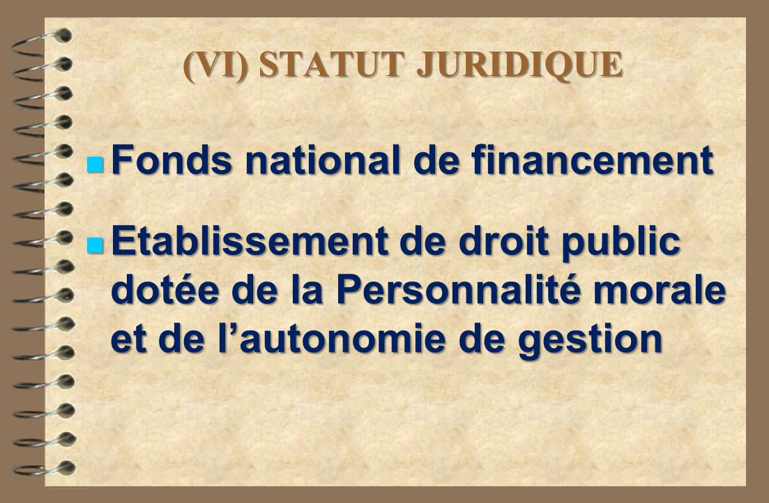 Fonds national de financement