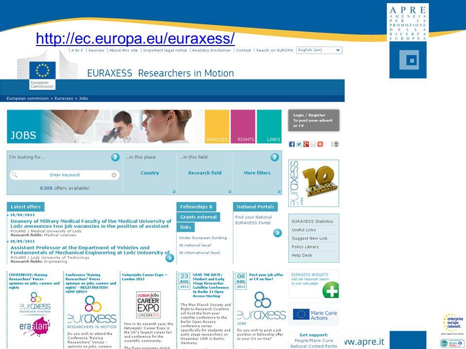 http://ec.europa.eu/euraxess/