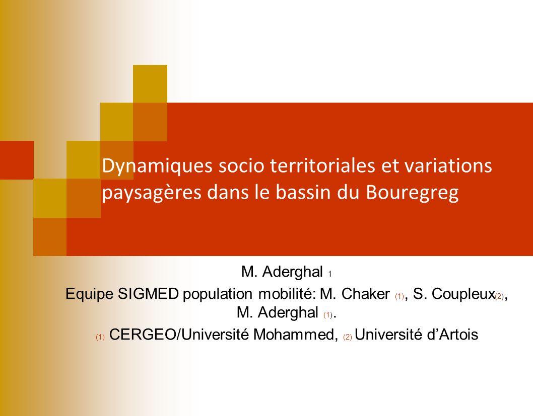 (1) CERGEO/Université Mohammed, (2) Université d'Artois