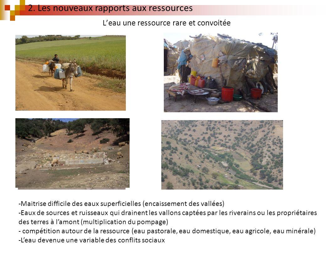 L'eau une ressource rare et convoitée