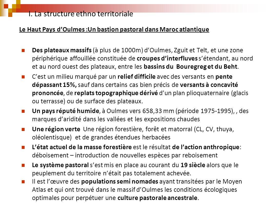 Le Haut Pays d'Oulmes :Un bastion pastoral dans Maroc atlantique
