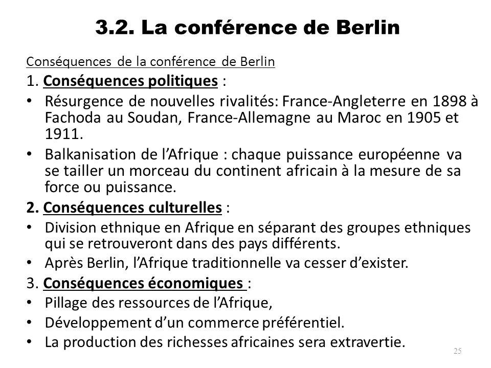 3.2. La conférence de Berlin
