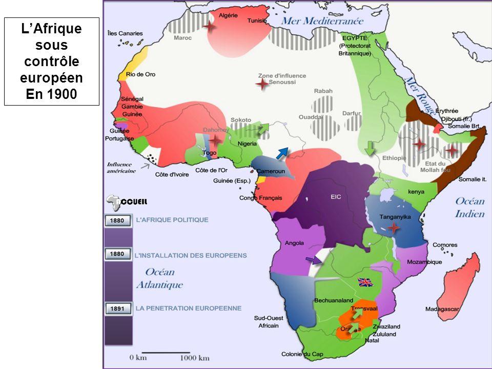 L'Afrique sous contrôle européen